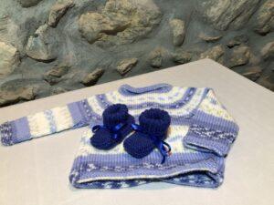 brassiere bleu